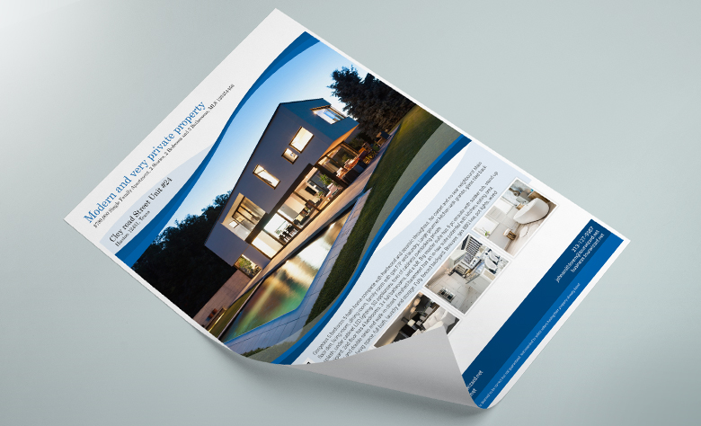 Impress your clients with stunning flyers!