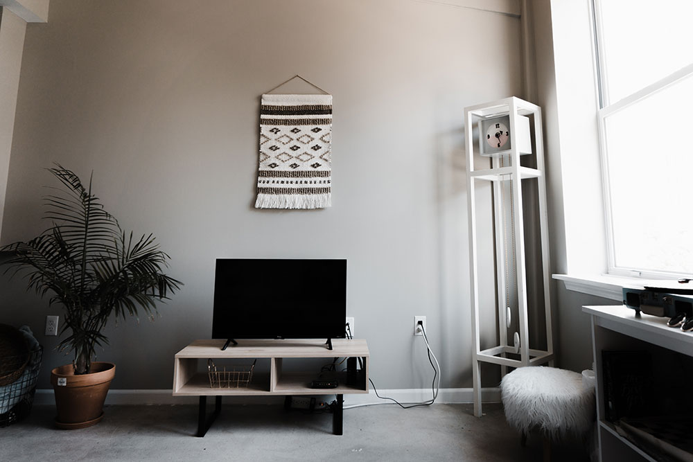 Living Room Furniture Packages With Tv.  sofa and your armchair place TV set against a different wall rearrange the art shelves you ll get an entirely new living room Cheap yet Chic 6 Ways to Decorate Living Room Tour Wizard